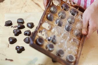 Шоколад своими руками с фото